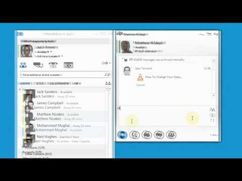 Skype for Business: Send and Recieve a file