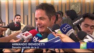 RED+   Duras declaraciones del senador Armando Benedetti contra el fiscal