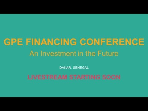 English webcast: GPE Financing Conference