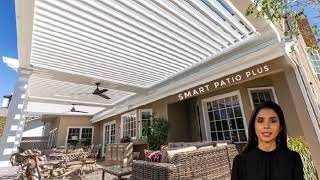 Smart Patio Plus - Shade Structure in Fountain Valley