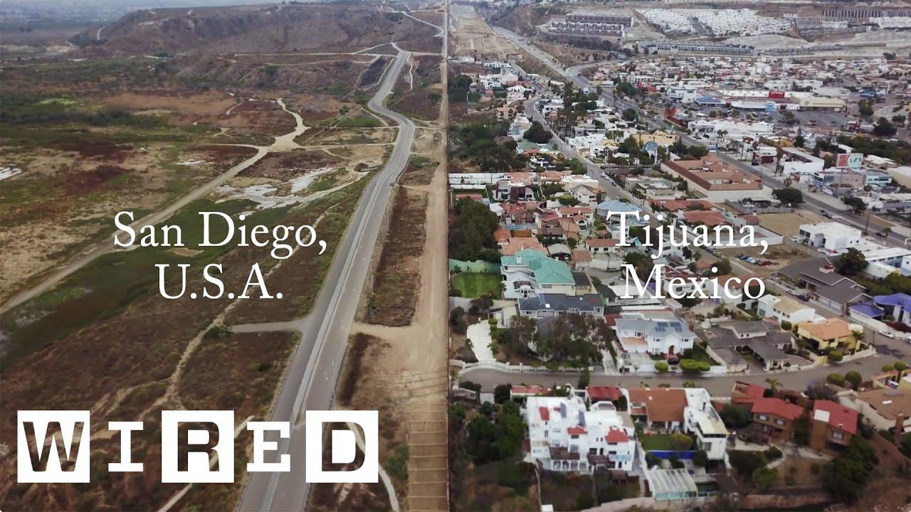 米国とメキシコの「国境の壁」現在の姿と市民たちの声 | WIRED.jp