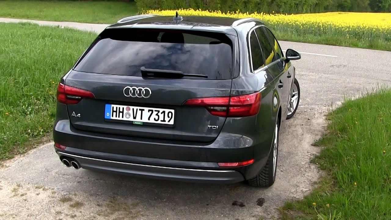 2016 audi a4 avant 2 0 tdi b9 190 hp test drive by. Black Bedroom Furniture Sets. Home Design Ideas