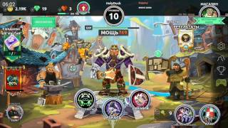 Обзор игр на Андроид #1 | Dungeon Legend | крутое MMORPG на телефон