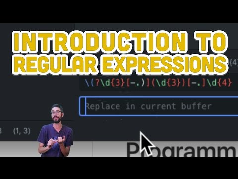 2.1: Introduction to Regular Expressions - Programming from A to Z