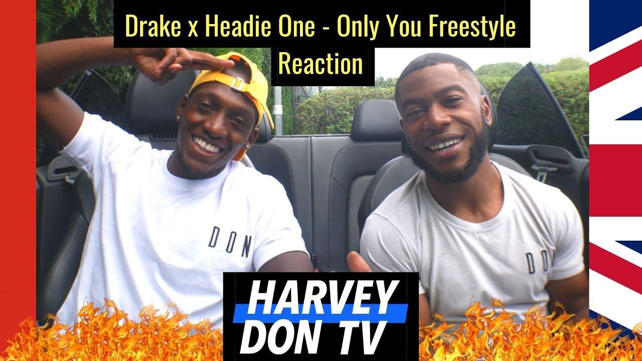Drake x Headie One - Only You Freestyle #HarveyDonTV @Raymanbeats