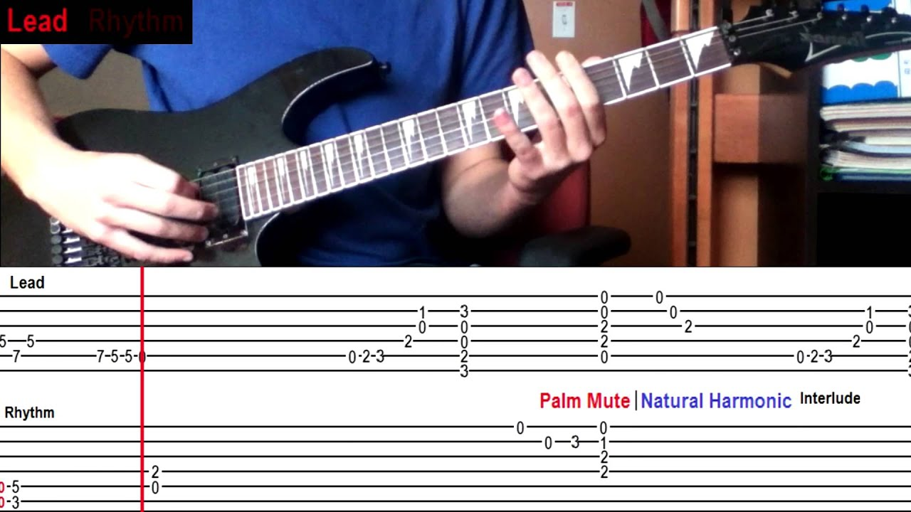 How To Play When Im Gone By 3 Doors Down With On Screen Tabs