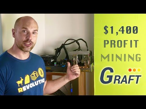First Profitable Simple Mining Rig Build - Graft