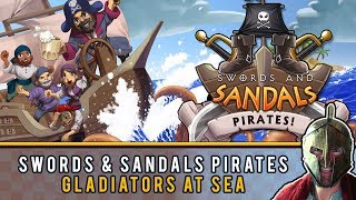 Swords and Sandals Pirates: High Seas Adventure! Games Gladiator S02 E10