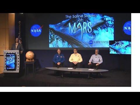 NASA unveiling biggest Mars discovery at Nasa press conference