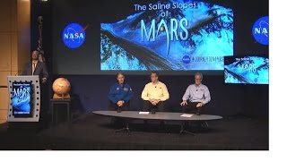 NASA unveiling biggest Mars discovery at Nasa press conference