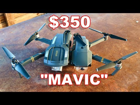 Budget DJI Mavic - C - FLY OBTAIN - Foldable GPS Camera Drone - TheRcSaylors
