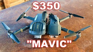 Budget DJI Mavic - C - FLY OBTAIN - Foldable GPS Camera Drone - TheRcSaylors