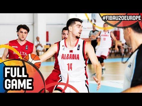 Albania v Malta - Full Game - FIBA U20 European Championship 2017 - DIV B