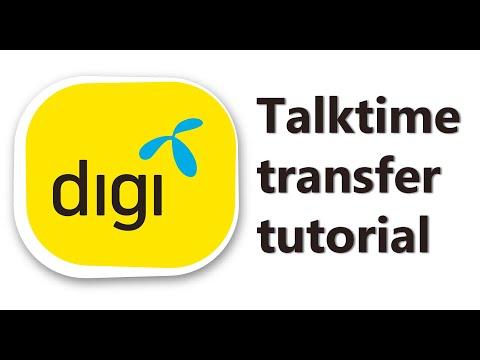 How to transfer Digi Credit