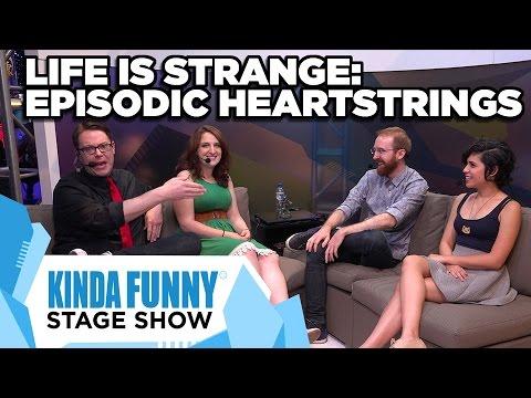 Ashly Burch, GameSpot, and Dev. Michael Koch talk Life is Strange - Kinda Funny Stage Show E3 2015