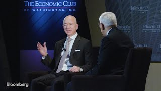Bezos Says He Doesn't Waste Time Looking at Amazon's Stock Price