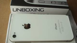iPhone 4S White 16GB Unboxing & First Look(Unboxing of the New 2011 White iPhone 4S 16GB, Subscribe to the channel for the upcoming review. Follow me on twitter http://bit.ly/naPkja Add me on google ..., 2011-10-15T04:53:46.000Z)