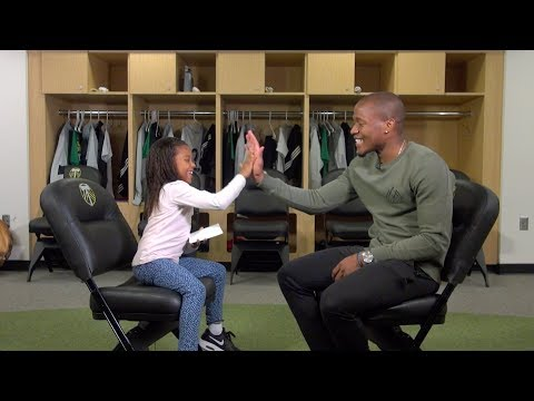 Timbers Kid Reporter | Maria Jose Chara interviews Darlington Nagbe