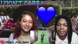 "ED SHEERAN JUSTIN BIEBER ""I DON'T CARE"" REACTION! Video"