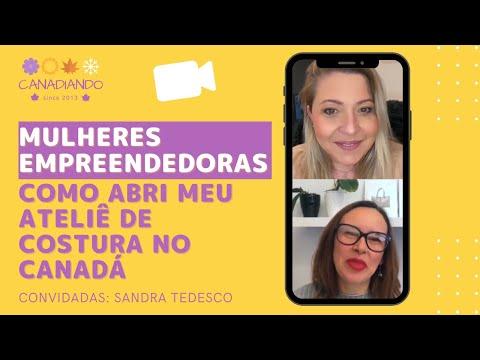 Mulheres Empreendedoras com Sandra Tedesco.