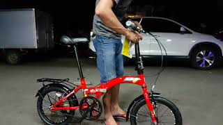 Sepeda Lipat United Stylo 16 inch Terbaru