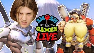 OVERWATCH CARNAGE LIVE! (Smosh Games Live)