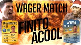 |FIFA 14 WAGER| FINITO VS. ACOOL FINAL MATCH!