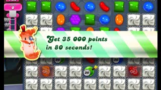 Candy Crush Saga Level 223 walkthrough (no boosters)