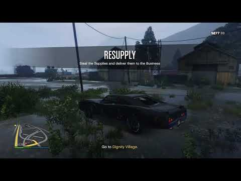 GTA 5: online supply run for the weed farm!!