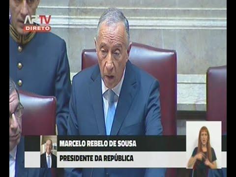 Discurso tomada de Posse do Presidente da República Marcelo Rebelo de Sousa