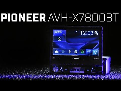 Pioneer AVH-X7800BT Single DIN - 7