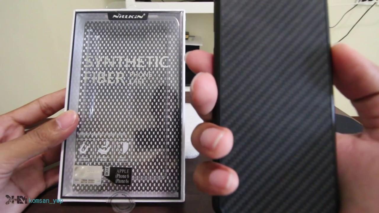 official photos 48b68 622fe รีวิว Nillkin เคส iPhone 6/6s รุ่น Synthetic Fiber