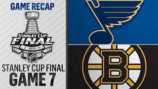 Download Blues prevail in Game 7, capture first Cup title Mp3 and Videos