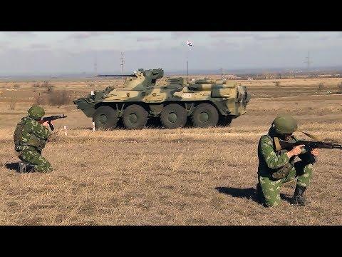 Разведчики Черноморского флота провели учение