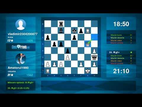 Chess Game Analysis: Amatorul1990 - vladimir2304200877 : 0-1 (By ChessFriends.com)