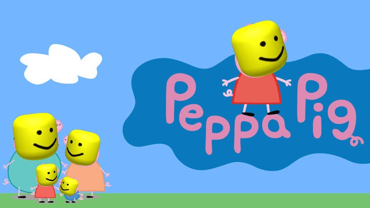 Peppa Pig Intro But With The Roblox Death Sound