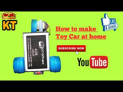 How to make toy car at home|| How to make toy bike at home||
