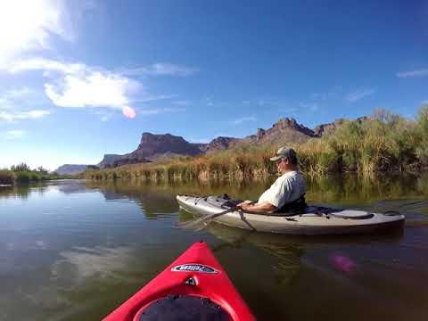 Kayaking the Bill Williams River National Wildlife Refuge - 4/7/2018