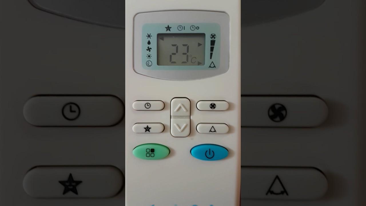 klima soğuk ayarı kumanda ayarlama - youtube