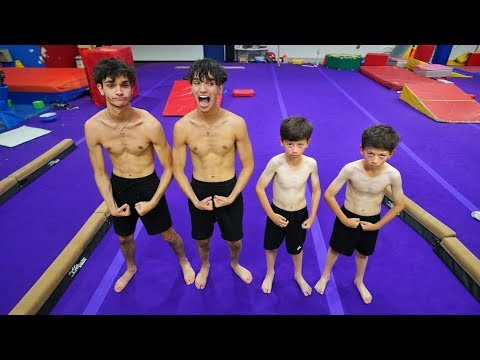 TWIN BOYS vs. TWIN BOYS GYMNASTICS!