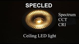 Обзор потолочных светодиодных светильников. Точечные светильники. LED Light