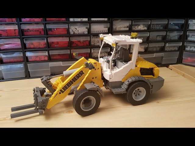 Building a Lego Liebherr L 506c - it's done! [9]