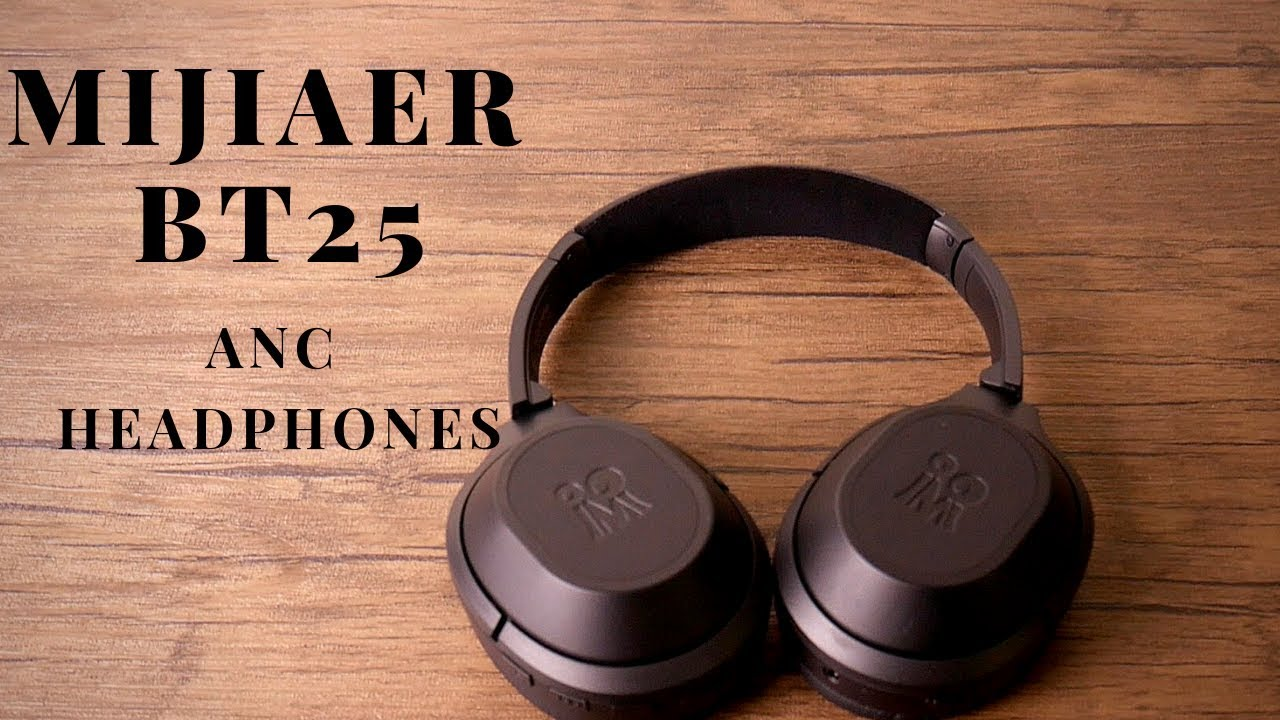 3156264123b Mijiaer BT 25 Active Noise Cancelling Headphones! - YouTube
