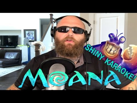 SHINY! MOANA Cover - LIVE Karaoke Performance!