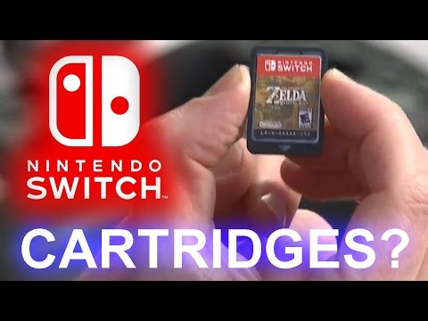 Why the Nintendo Switch uses Cartridges | Storage Media & Areal Density | Physics vs Film (& Games)