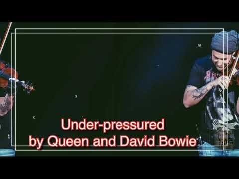 Under pressure by Queen and David Bowie (the same scenario) lyrics ⬇️ my last attempt