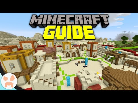 How To Build a Custom Village! | Minecraft Guide Episode 32 (Minecraft 1.15.2 Lets Play)