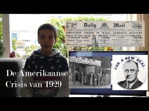 De Amerikaanse Economische Crisis van 1929 (Great Depression) -  Op de bank bij Geschiedenis Vlog #2