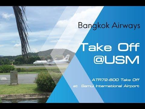 ATR72-600 | Bangkok Airways taxi at Samui International Airport