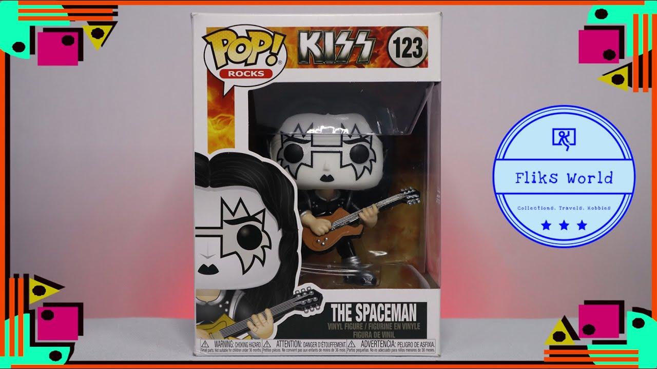 THE SPACEMAN #123 Funko POP Rocks KISS Vinyl Figure